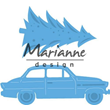 Marianne Design Dies - Driving Home for Christmas
