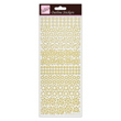 Outline Stickers - Sparkling Stars - Gold