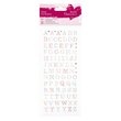 Glitter Dot Stickers - Upper Case Alfabet