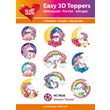 Easy 3D - Toppers - Glitter - Unicorn 2