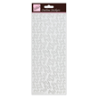 Outline Stickers - Border - Silver