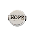 Metallpärlor - HOPE - 10mm - 50st