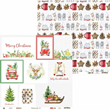 Klippark - 30x30 cm - Christmas Treats 05