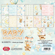 Paper pack - Craft & You - Baby Adventure - 15x15cm