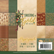 Paper pack - 15x15cm - Christmas in Gold