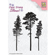 Clearstamps - Silhouette - 3 Pinetrees
