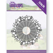 Jeanines Art Dies - Spring Landscapes - Spring Scalloped Circle