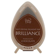 Brilliance stämpeldyna - Pearlscent Chocolate