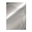 A4 Cardstock - Mirror effect - Silver metallic - 5st