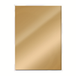 A4 Cardstock - Mirror Effect - Gold metallic - 5st