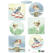 Marianne Design - Klippark A4 - Tiny´s Birds in winter