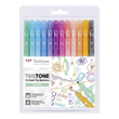 Tombow - Twintone Dual-tip Markers - Pastel